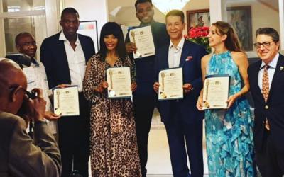 Tessy Antony-de Nassau récompensée par les villes de Beverly Hills et Los Angeles pour son travail