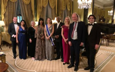 Former Princess Tessy receives award from exiled Rwandan King
